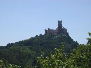 Palacio da Pena from the Moorish castle