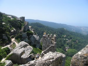 Lots of walking and baking at Moorish castle