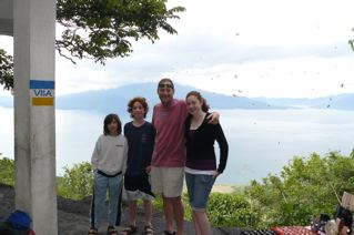 At lake Atitlan