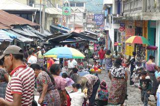 Market scene, San Pedro