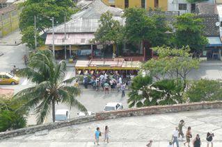 View from Castilo san Felipe