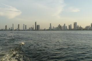 Cartagena from the water