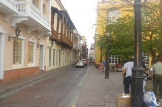 Cartagena street, final night