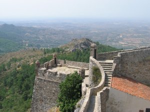 The walls of Marvao