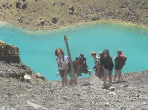 Blue Lake, Tongariro