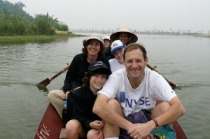 Boat To Perfume Pagoda